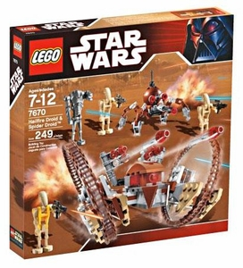 LEGO Star Wars Set #7670 Hailfire Droid & Spider Droid