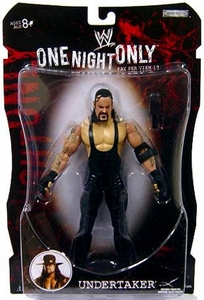 WWE Wrestling PPV Pay Per View Series 19 One Night Only Action Figure Undertaker