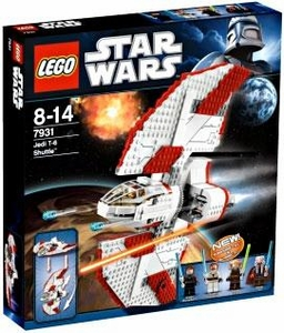 LEGO Star Wars Set #7931T-6 Jedi Shuttle