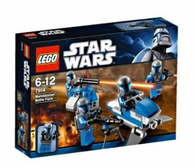 LEGO Star Wars Set #7914 Mandalorian Battle Pack