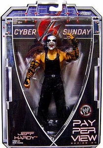 WWE Wrestling PPV Pay Per View Series 20 Action Figure Jeff Hardy [White Face Paint!]
