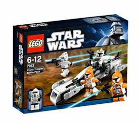 LEGO Star Wars Set #7913 Clone Trooper Battle Pack