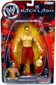 WWE Jakks Pacific Wrestling Action Figure Backlash PPV Chris Benoit