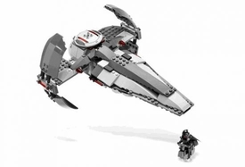 LEGO Star Wars LOOSE Complete Exclusive Limited Edition Set #7663 Sith Infiltrator 100% Complete No Box.