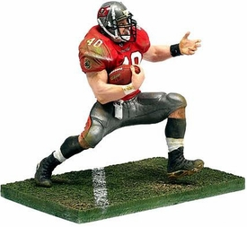 McFarlane Toys NFL Sports Picks Series 6 Action Figure Mike Alstott (Tampa Bay Buccaneers) Red Jersey