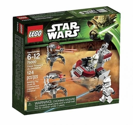 LEGO Star Wars Set #75000 Clone Troopers vs. Droidekas
