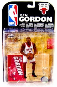 McFarlane Toys NBA Sports Picks Series 15 Action Figure Ben Gordon (Chicago Bulls) White Jersey