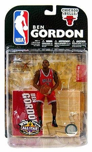 McFarlane Toys NBA Sports Picks Series 15 Action Figure Ben Gordon (Chicago Bulls) Red Jersey Variant