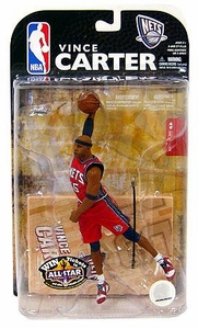 McFarlane Toys NBA Sports Picks Series 15 Action Figure Vince Carter (New Jersey Nets)