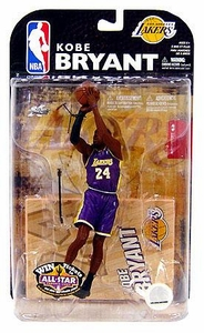 McFarlane Toys NBA Sports Picks Series 15 Action Figure Kobe Bryant (Los Angeles Lakers) Purple Jersey