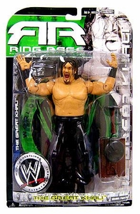 WWE Wrestling Ruthless Aggression Ring Rage Series 34.5 Action Figure Great Khali