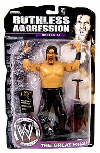WWE Wrestling Ruthless Aggression Series 34 Action Figure Great Khali
