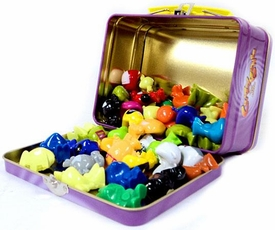 Crazy Bones Gogo's ToyWiz.com Custom MEGA Tin Set [Includes 50 Crazy Bones] BLOWOUT SALE!