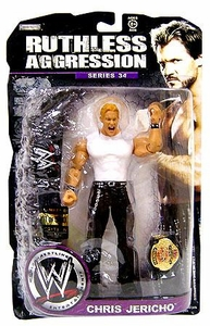 WWE Wrestling Ruthless Aggression Series 34 Action Figure Chris Jericho