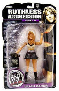 WWE Wrestling Ruthless Aggression Series 34 Action Figure Lilian Garcia