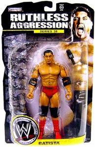 WWE Wrestling Ruthless Aggression Series 38 Action Figure Batista
