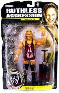 WWE Wrestling Ruthless Aggression Series 38 Action Figure Jesse