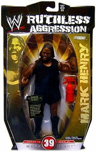 WWE Wrestling Ruthless Aggression Series 39 Action Figure Mark Henry
