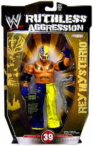WWE Wrestling Ruthless Aggression Series 39 Action Figure Rey Mysterio