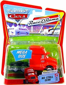Disney / Pixar CARS Movie 1:55 Die Cast Car Oversized Vehicle No Stall Semi