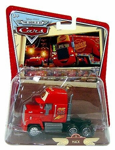 Disney / Pixar CARS Movie 1:55 Die Cast Car Oversized Vehicle Mack Truck Semi [*Random Package]