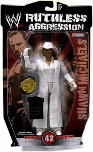 WWE Wrestling Ruthless Aggression Series 42 Action Figure Shawn Michaels [HBK]
