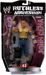 WWE Wrestling Ruthless Aggression Series 43 Action Figure John Cena