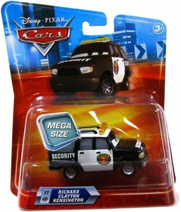 Disney / Pixar CARS Movie 1:55 Die Cast Car Oversized Vehicle Richard Clayton Kensington [Security Van]