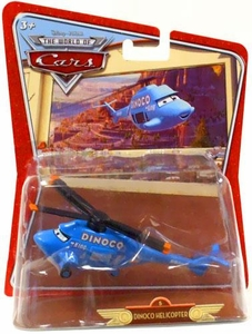 Disney / Pixar CARS Movie 1:55 Die Cast Car Oversized Vehicle Dinoco Helicopter [Random Package]