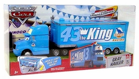 Disney / Pixar CARS Movie King's Gray Hauler