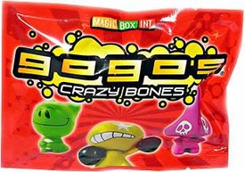 Crazy Bones Gogo's Series 1 Booster Pack [3 Crazy Bones]Ron Manzano