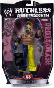WWE Wrestling Ruthless Aggression Series 43 Action Figure Rey Mysterio
