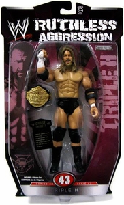 WWE Wrestling Ruthless Aggression Series 43 Action Figure Triple H