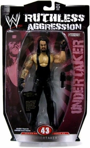 WWE Wrestling Ruthless Aggression Series 43 Action Figure Undertaker