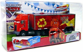 Disney / Pixar CARS Movie Jerry Recycled Batteries Hauler