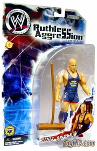 WWE Jakks Pacific Wrestling Action Figure Ruthless Aggression Series 6 Kurt Angle