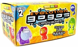 Crazy Bones Gogo's Series 2 Evolution Booster Box [30 Packs] Hot!