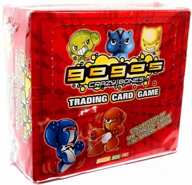 Crazy Bones Trading Card Game Booster Box