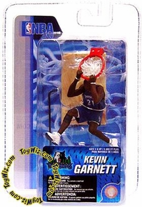 McFarlane Toys NBA 3 Inch Sports Picks Series 4 Mini Figure Kevin Garnett (Minnesota Timberwolves)