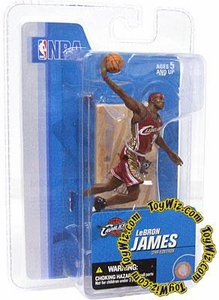 McFarlane Toys NBA 3 Inch Sports Picks Series 3 Mini Figure LeBron James (Cleveland Cavaliers)