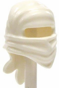 LEGO LOOSE Headgear White Ninja Wrap