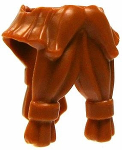 LEGO LOOSE Headgear Accessory Orange Twin Tied Dwarf Beard