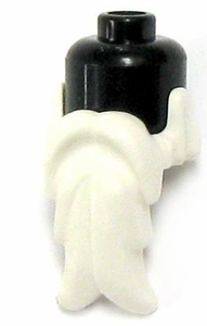 LEGO LOOSE Headgear Accessory White Beard