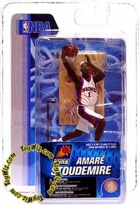 McFarlane Toys NBA 3 Inch Sports Picks Series 4 Mini Figure Amare Stoudemire (Phoenix Suns)