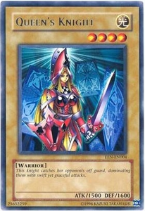 YuGiOh Elemental Energy Rare Single Card EEN-EN004 Queen's Knight