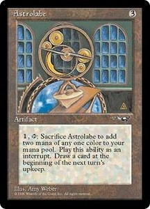 Magic the Gathering Alliances Single Card Common Astrolabe [Random Artwork]