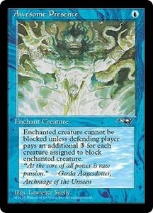 Magic the Gathering Alliances Single Card Common Awesome Presence [Random Artwork]