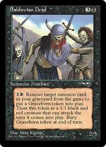 Magic the Gathering Alliances Single Card Uncommon Balduvian Dead