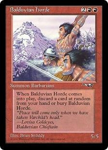 Magic the Gathering Alliances Single Card Rare Balduvian Horde