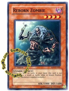 YuGiOh Elemental Energy Common Single Card EEN-EN009 Reborn Zombie